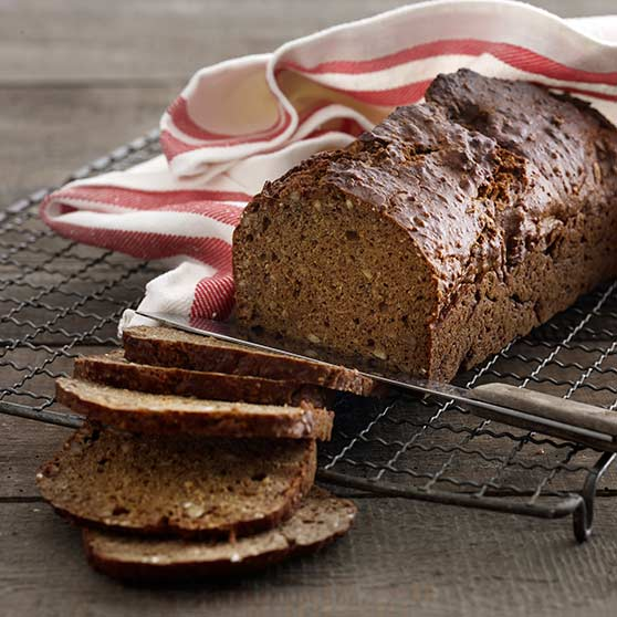 Rye bread with muscovado syrup