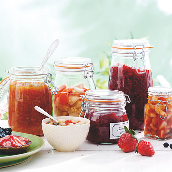 Jams and cordials