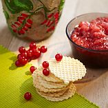Fresh redcurrants jam