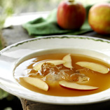 Apple dessert soup