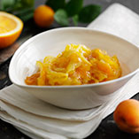 Apricot and orange marmalade