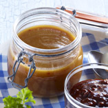 Apricot sauce for serving with grilled food