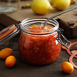 Citrus fruits marmalade with banana