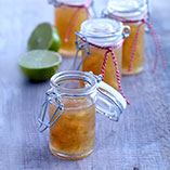 Lime and ginger jam