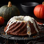 Chocolate and pumpkin cake
