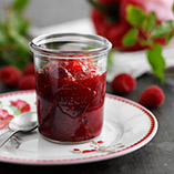 Red pepper and raspberry marmalade