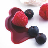 Red wine syrup