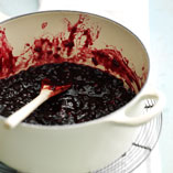 Spiced lingonberry jam