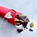 Christmas toffee with walnuts