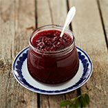 Traditional lingonberry jam