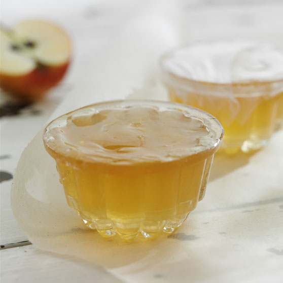 Apple jelly with Calvados
