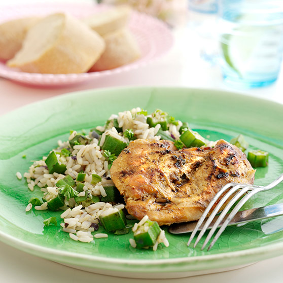 Lime & thyme chicken