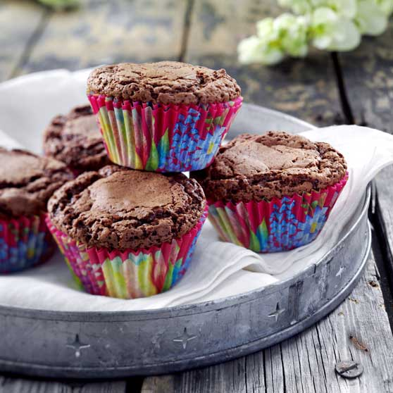 Cupcake brownies