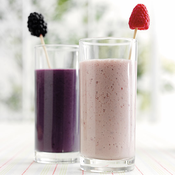 Blackberry shake