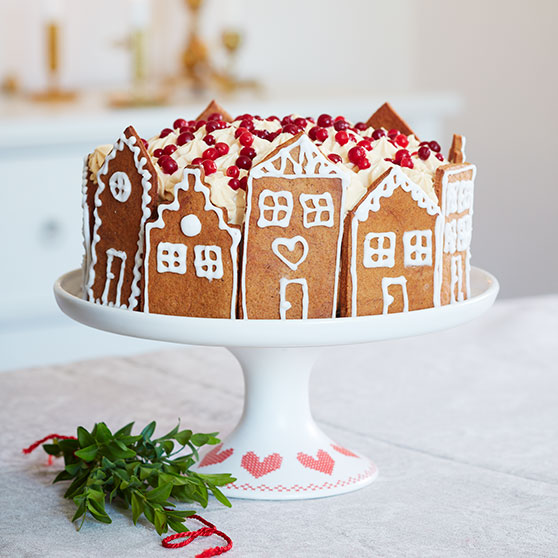 Gingerbread Gateau